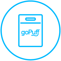 goPuff bag icon